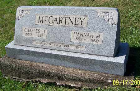 MCCARTNEY, HANNAH M. - Tuscarawas County, Ohio | HANNAH M. MCCARTNEY - Ohio Gravestone Photos