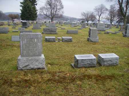 MCCOY, BURIAL PLOT - Tuscarawas County, Ohio | BURIAL PLOT MCCOY - Ohio Gravestone Photos