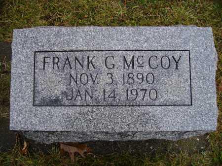 MCCOY, FRANK GILBERT - Tuscarawas County, Ohio | FRANK GILBERT MCCOY - Ohio Gravestone Photos