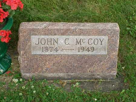 MCCOY, JOHN C. - Tuscarawas County, Ohio | JOHN C. MCCOY - Ohio Gravestone Photos