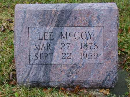 MCCOY, LEE - Tuscarawas County, Ohio | LEE MCCOY - Ohio Gravestone Photos