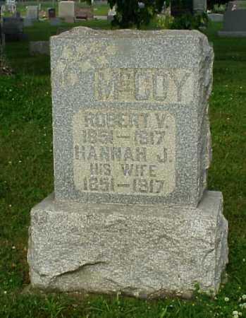 MCCOY, HANNAH JANE - Tuscarawas County, Ohio | HANNAH JANE MCCOY - Ohio Gravestone Photos