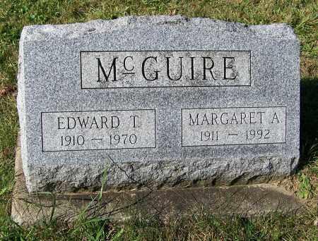 MCGUIRE, EDWARD T. - Tuscarawas County, Ohio | EDWARD T. MCGUIRE - Ohio Gravestone Photos