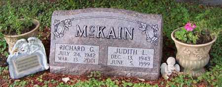 MCKAIN, JUDITH L. - Tuscarawas County, Ohio   JUDITH L. MCKAIN - Ohio Gravestone Photos