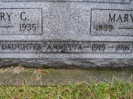 MCMILLEN, ANNETTA - Tuscarawas County, Ohio | ANNETTA MCMILLEN - Ohio Gravestone Photos