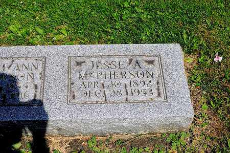 MCPHERSON, JESSE A. - Tuscarawas County, Ohio | JESSE A. MCPHERSON - Ohio Gravestone Photos
