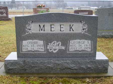 ROUP MEEK, OSHIE - Tuscarawas County, Ohio | OSHIE ROUP MEEK - Ohio Gravestone Photos