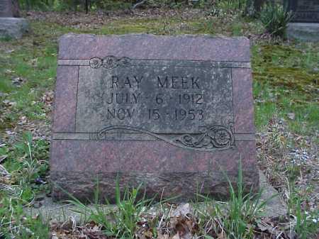 MEEK, RAY - Tuscarawas County, Ohio   RAY MEEK - Ohio Gravestone Photos