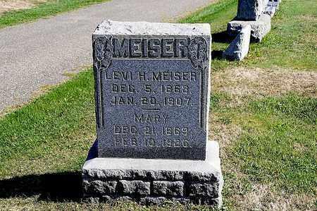 MEISER, LEVI H. - Tuscarawas County, Ohio | LEVI H. MEISER - Ohio Gravestone Photos