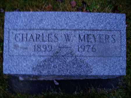 MEYERS, CHARLES W. - Tuscarawas County, Ohio   CHARLES W. MEYERS - Ohio Gravestone Photos