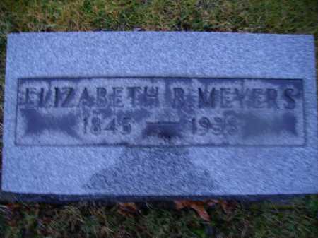 MEYERS, ELIZABETH B. - Tuscarawas County, Ohio | ELIZABETH B. MEYERS - Ohio Gravestone Photos