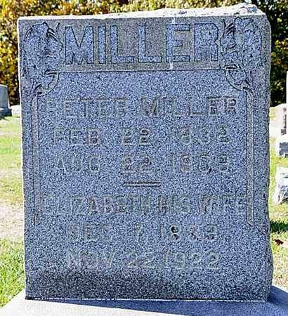 MILLER, PETER - Tuscarawas County, Ohio | PETER MILLER - Ohio Gravestone Photos