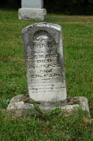 MISER, FLORA - Tuscarawas County, Ohio   FLORA MISER - Ohio Gravestone Photos
