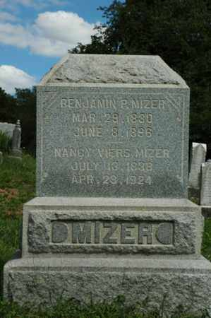 MIZER, NANCY - Tuscarawas County, Ohio | NANCY MIZER - Ohio Gravestone Photos