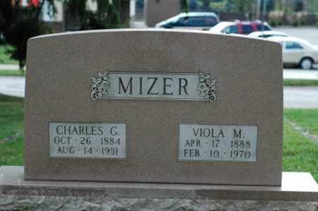 MIZER, CHARLES G. - Tuscarawas County, Ohio   CHARLES G. MIZER - Ohio Gravestone Photos