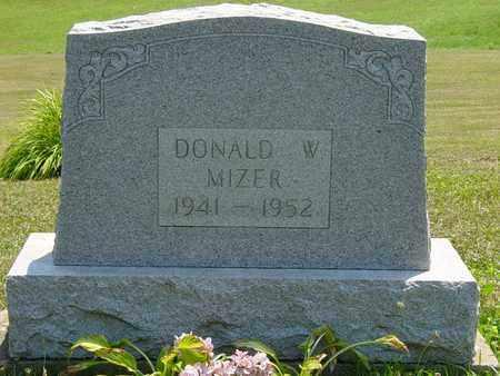 MIZER, DONALD W. - Tuscarawas County, Ohio   DONALD W. MIZER - Ohio Gravestone Photos