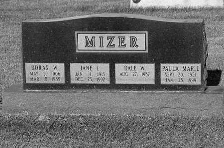 MIZER, PAULA - Tuscarawas County, Ohio | PAULA MIZER - Ohio Gravestone Photos