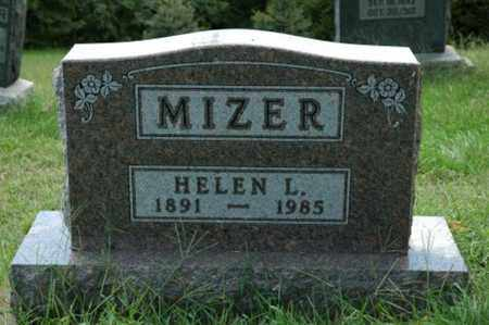 MIZER, HELEN L. - Tuscarawas County, Ohio | HELEN L. MIZER - Ohio Gravestone Photos