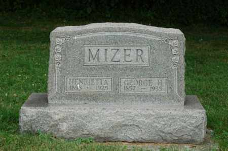 MIZER, GEORGE H. - Tuscarawas County, Ohio | GEORGE H. MIZER - Ohio Gravestone Photos