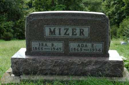 MIZER, ADA E. - Tuscarawas County, Ohio | ADA E. MIZER - Ohio Gravestone Photos