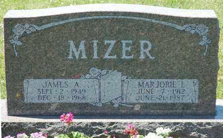 MIZER, JAMES A. - Tuscarawas County, Ohio | JAMES A. MIZER - Ohio Gravestone Photos