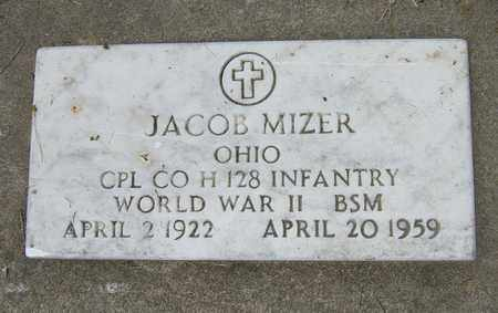MIZER, JACOB - Tuscarawas County, Ohio   JACOB MIZER - Ohio Gravestone Photos