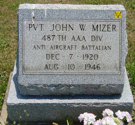 MIZER, JOHN W. - Tuscarawas County, Ohio | JOHN W. MIZER - Ohio Gravestone Photos