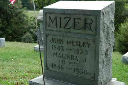 MIZER, MALINDA J. - Tuscarawas County, Ohio   MALINDA J. MIZER - Ohio Gravestone Photos