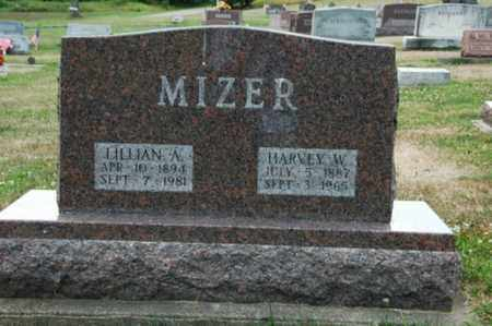 MIZER, HARVEY W. - Tuscarawas County, Ohio | HARVEY W. MIZER - Ohio Gravestone Photos