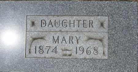 MIZER, MARY - Tuscarawas County, Ohio | MARY MIZER - Ohio Gravestone Photos