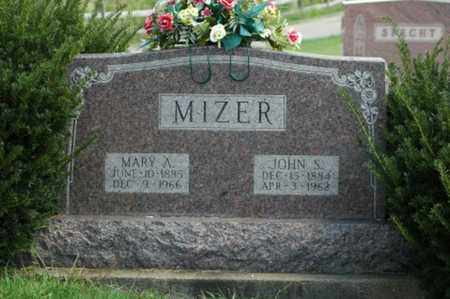 BURTON MIZER, MARY A. - Tuscarawas County, Ohio | MARY A. BURTON MIZER - Ohio Gravestone Photos