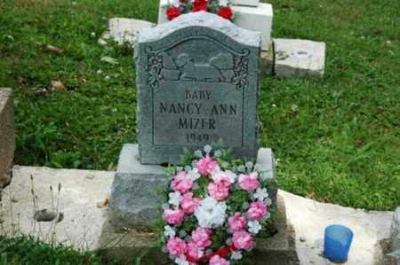MIZER, NANCY ANN - Tuscarawas County, Ohio | NANCY ANN MIZER - Ohio Gravestone Photos