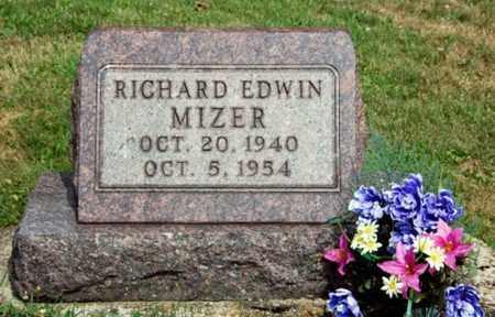MIZER, RICHARD EDWIN - Tuscarawas County, Ohio | RICHARD EDWIN MIZER - Ohio Gravestone Photos