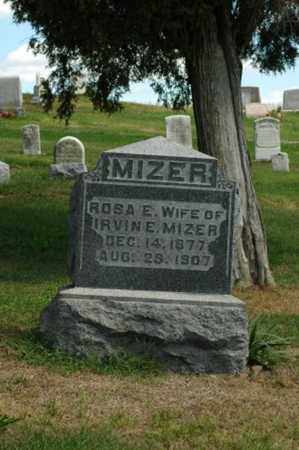 ANDREWS MIZER, ROSA E. - Tuscarawas County, Ohio | ROSA E. ANDREWS MIZER - Ohio Gravestone Photos