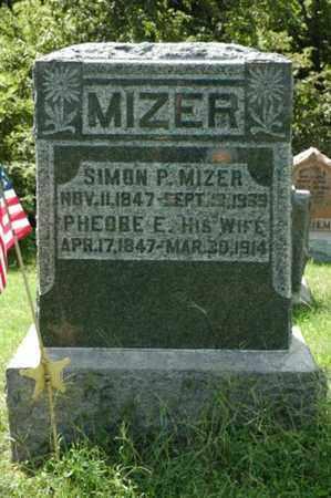MIZER, PHOEBE E. - Tuscarawas County, Ohio   PHOEBE E. MIZER - Ohio Gravestone Photos