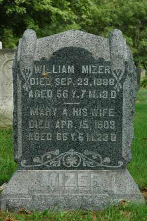MIZER, WILLIAM - Tuscarawas County, Ohio | WILLIAM MIZER - Ohio Gravestone Photos