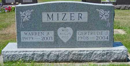 MIZER, WARREN A. - Tuscarawas County, Ohio | WARREN A. MIZER - Ohio Gravestone Photos