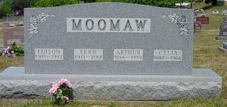 ANDREAS MOOMAW, CELIA - Tuscarawas County, Ohio | CELIA ANDREAS MOOMAW - Ohio Gravestone Photos