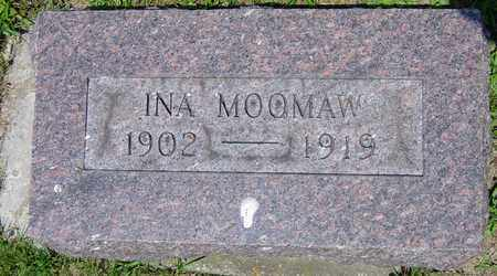MOOMAW, INA - Tuscarawas County, Ohio | INA MOOMAW - Ohio Gravestone Photos