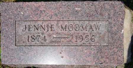 SNYDER MOOMAW, JENNIE - Tuscarawas County, Ohio   JENNIE SNYDER MOOMAW - Ohio Gravestone Photos