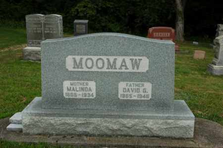 MOOMAW, DAVID G. - Tuscarawas County, Ohio   DAVID G. MOOMAW - Ohio Gravestone Photos