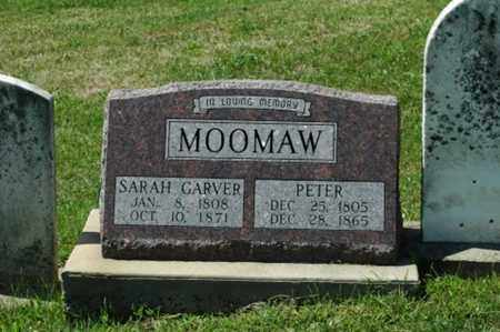 MOOMAW, SARAH - Tuscarawas County, Ohio | SARAH MOOMAW - Ohio Gravestone Photos