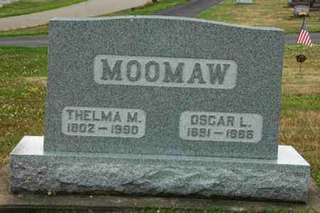 MILLER MOOMAW, THELMA - Tuscarawas County, Ohio | THELMA MILLER MOOMAW - Ohio Gravestone Photos