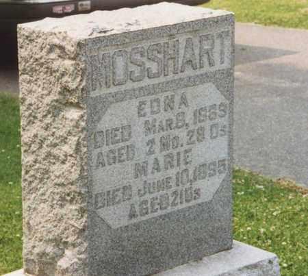 MOSSHART, MARIE - Tuscarawas County, Ohio | MARIE MOSSHART - Ohio Gravestone Photos