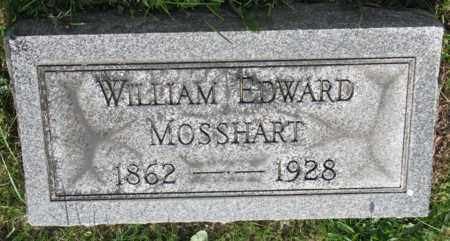 MOSSHART, WILLIAM EDWARD - Tuscarawas County, Ohio | WILLIAM EDWARD MOSSHART - Ohio Gravestone Photos