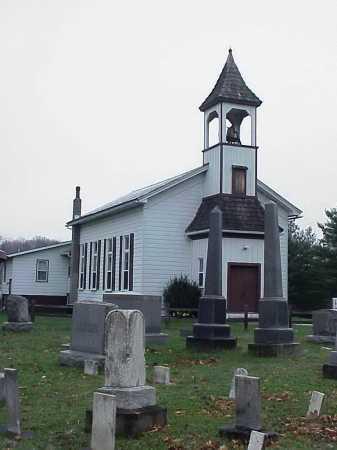 MT. TABOR CEMETERY, CEMETERY & CHURCH - Tuscarawas County, Ohio   CEMETERY & CHURCH MT. TABOR CEMETERY - Ohio Gravestone Photos