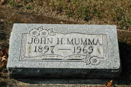 MUMMA, JOHN H. - Tuscarawas County, Ohio   JOHN H. MUMMA - Ohio Gravestone Photos