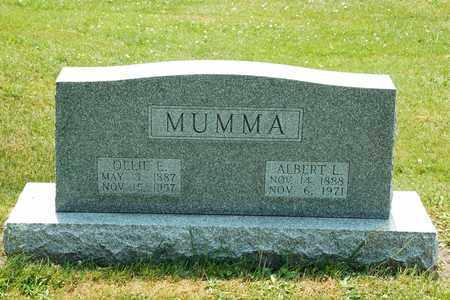 MUMMA, ALBERT L. - Tuscarawas County, Ohio | ALBERT L. MUMMA - Ohio Gravestone Photos