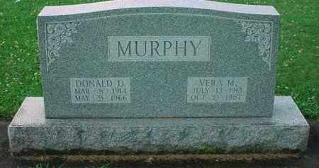 MURPHY, VERA M, - Tuscarawas County, Ohio | VERA M, MURPHY - Ohio Gravestone Photos