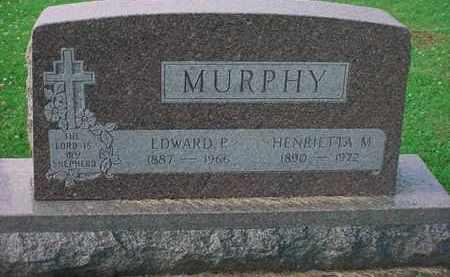 MURPHY, EDWARD P. - Tuscarawas County, Ohio | EDWARD P. MURPHY - Ohio Gravestone Photos